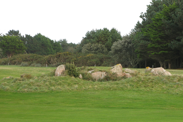 Stones between the 5th and 7th Fairways